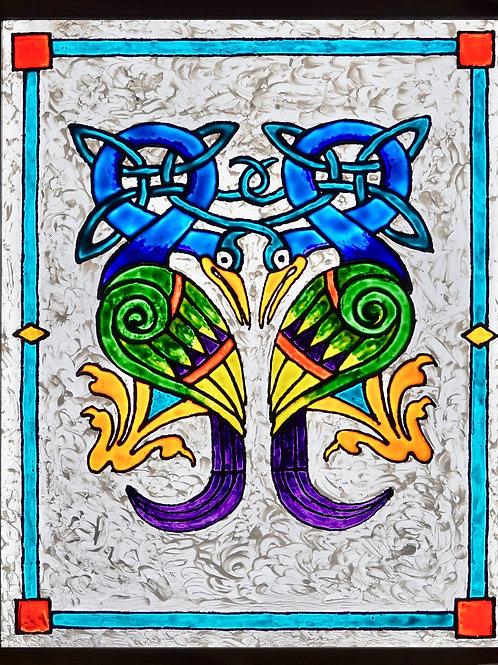 """Kells Peacocks   16""""x20"""""""