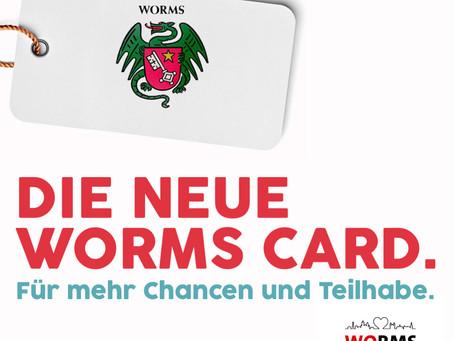 Die Worms-Card kommt