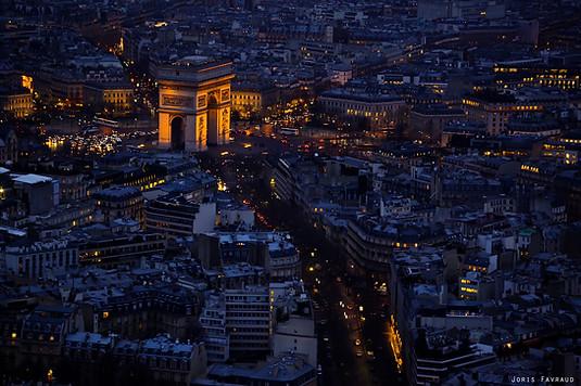 Paris - Arc de Triomphe Night