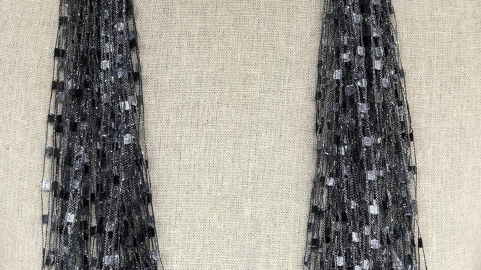 Silver Ribbon Scarf