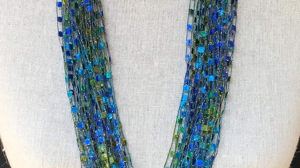 """Caribbean Necklace (shown in 34"""")"""
