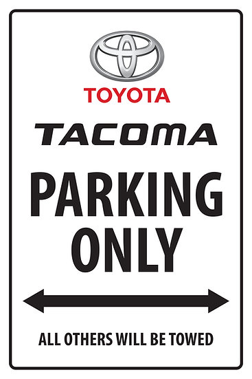 TACOMA PARKING ONLY 02