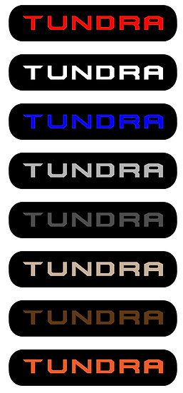 HUSKY X-ACT TUNDRA REPLACEMENT BADGE