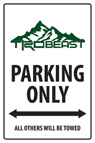 TRDBEAST PARKING ONLY
