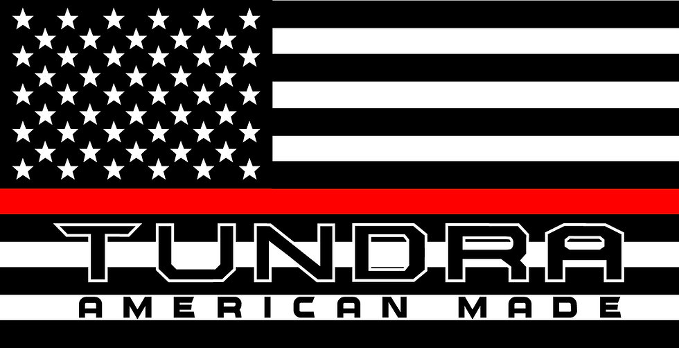 TUNDRA AMERICAN MADE RED LINE DECAL