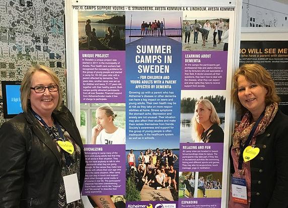Gudrun och Katrin Foto Christina Nemell.