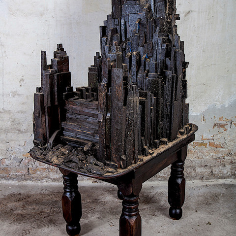 From the series `Stockade Sculptures´