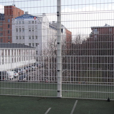 Fodbold På Taget (On The Roof) Aldersrogade - Copenhagen.