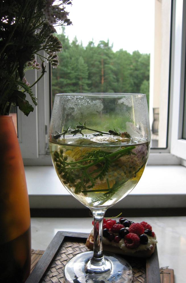 Детокс-чай с тысячелистником и цикорием