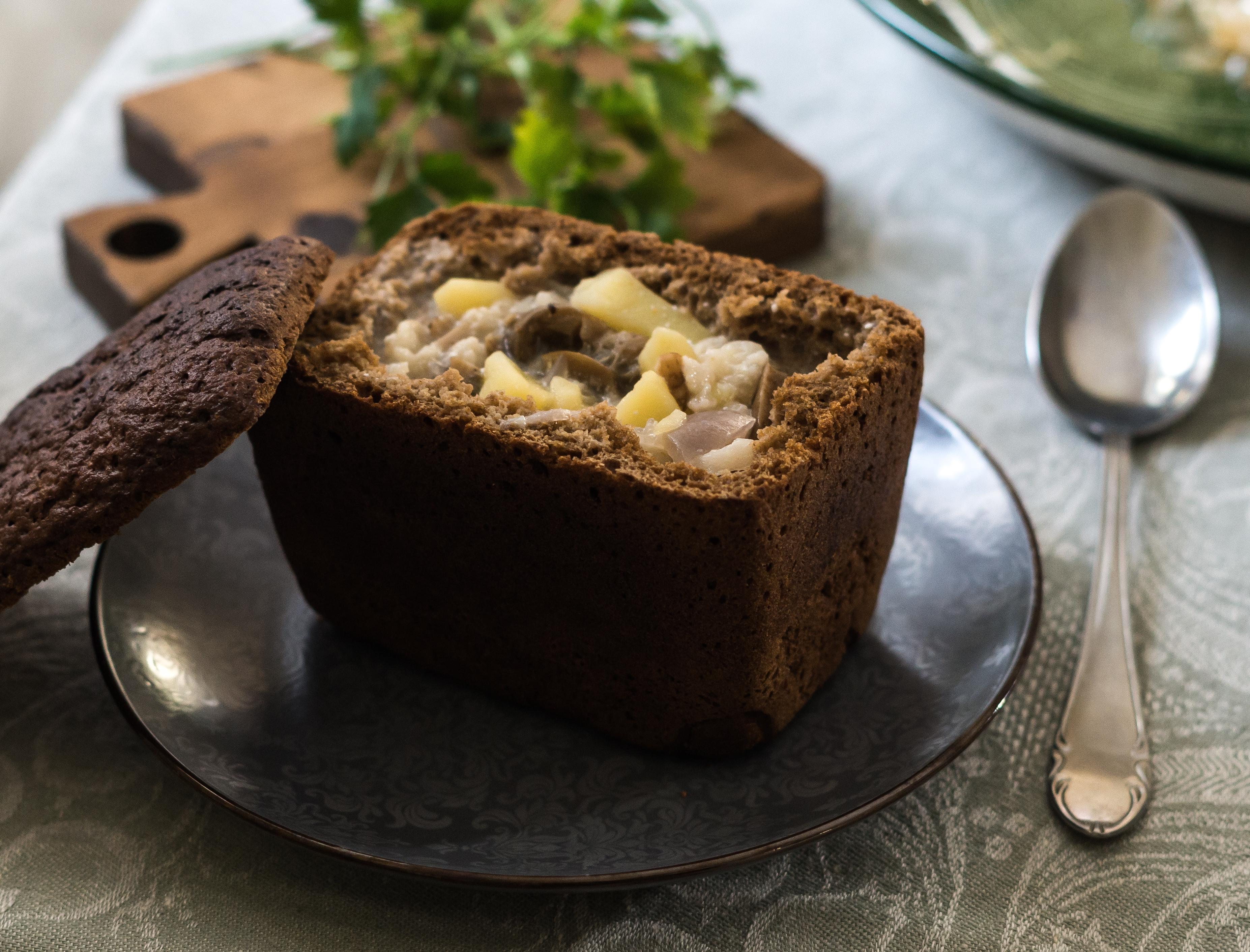 способов изготовления жаркое в хлебном горшочке рецепт с фото чаги сейчас
