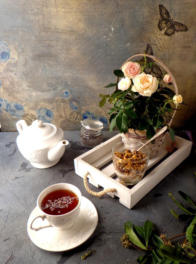 Антидепрессивный детокс-чай и завтрак с пророщенной пшеницей