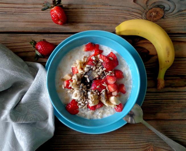 Овсянка для счастья - постный завтрак-восторг