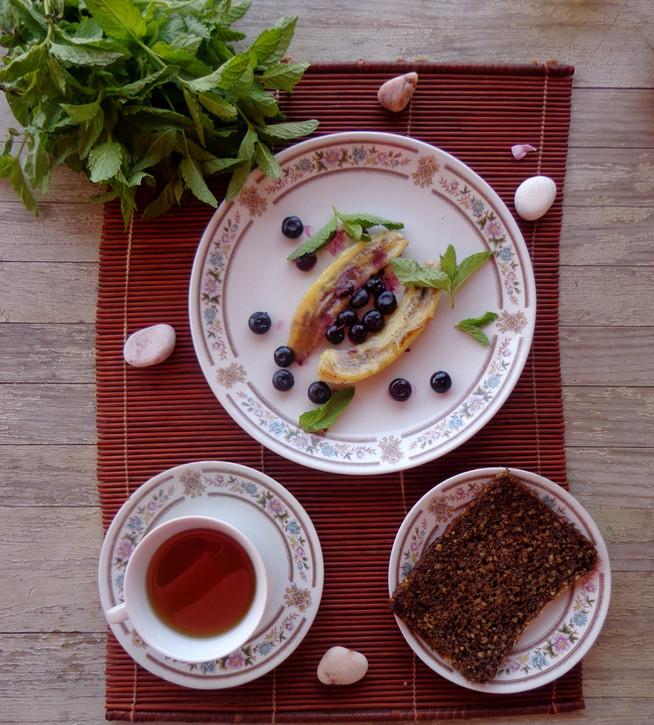 Детокс-завтрак с ягодами