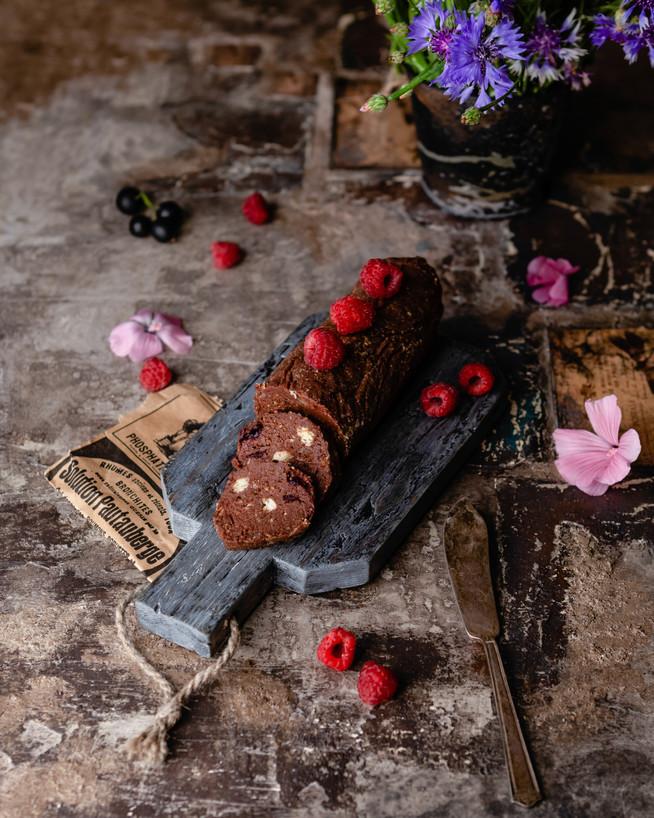 ПП Шоколадная колбаска