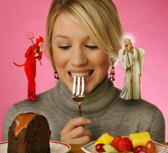 Мотивация похудеть.  Часть 2. Контроль/воля vs потакание слабостям