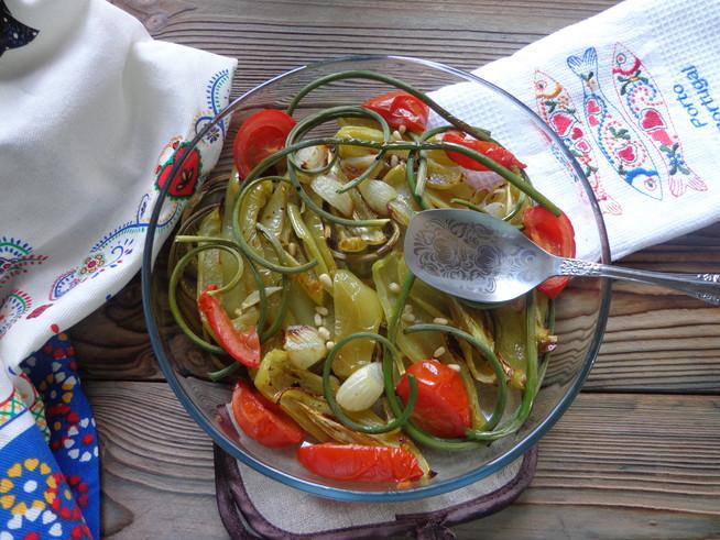 Запеченые перцы по-португальски