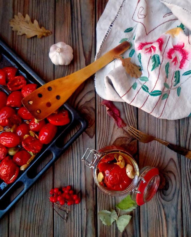 Запеченые томаты