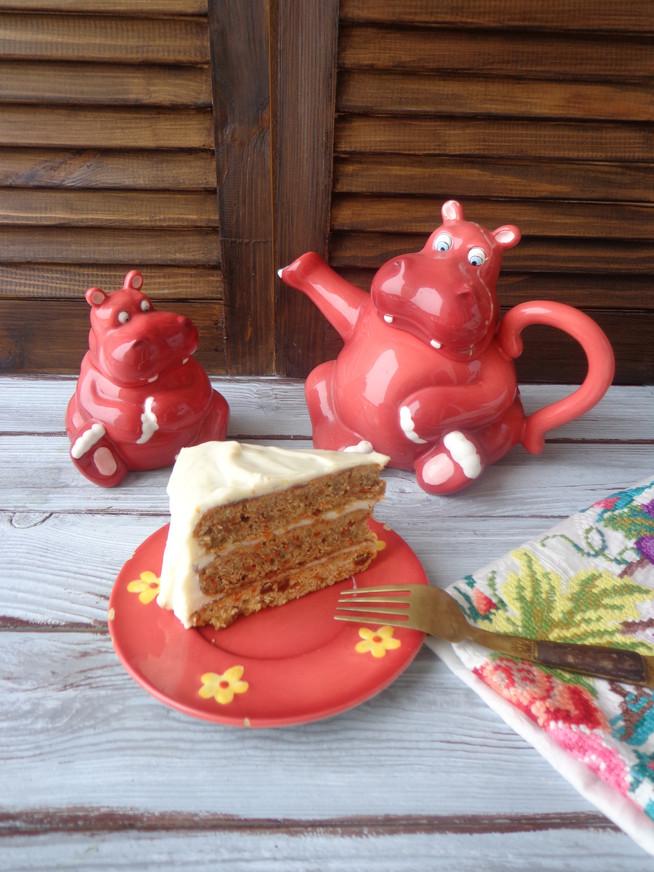Морковный торт: вкусняшки для детской компашки