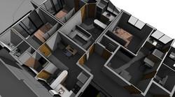 Vista 3D interna 2