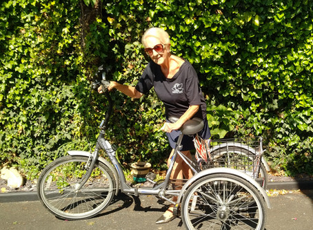 Eighty year old, Theo, is cycling 80 miles in eighty days......