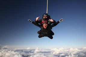 13,000 ft above the ground Miracles happen.