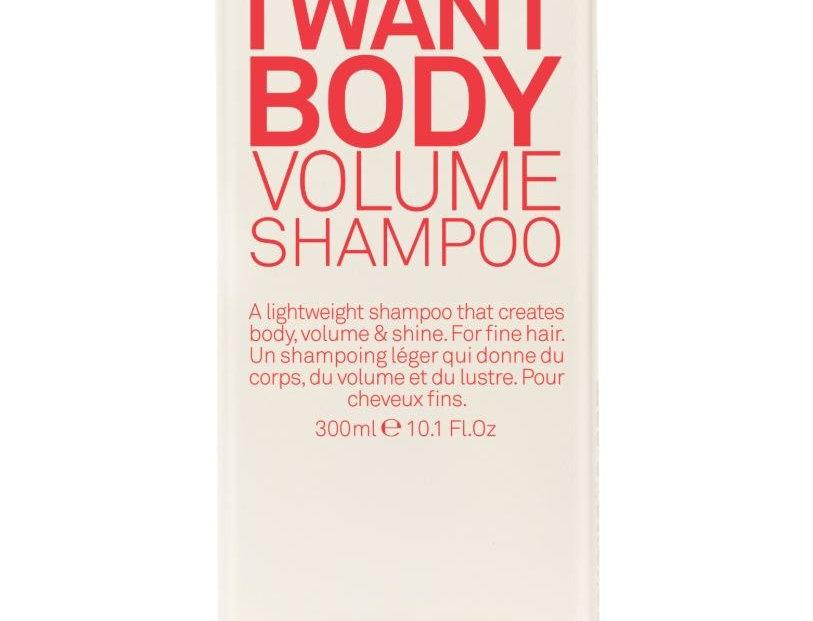 I WANT BODY VOLUME SHAMPOO - 300ml