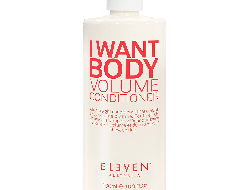 I WANT BODY VOLUME CONDITIONER-500ml