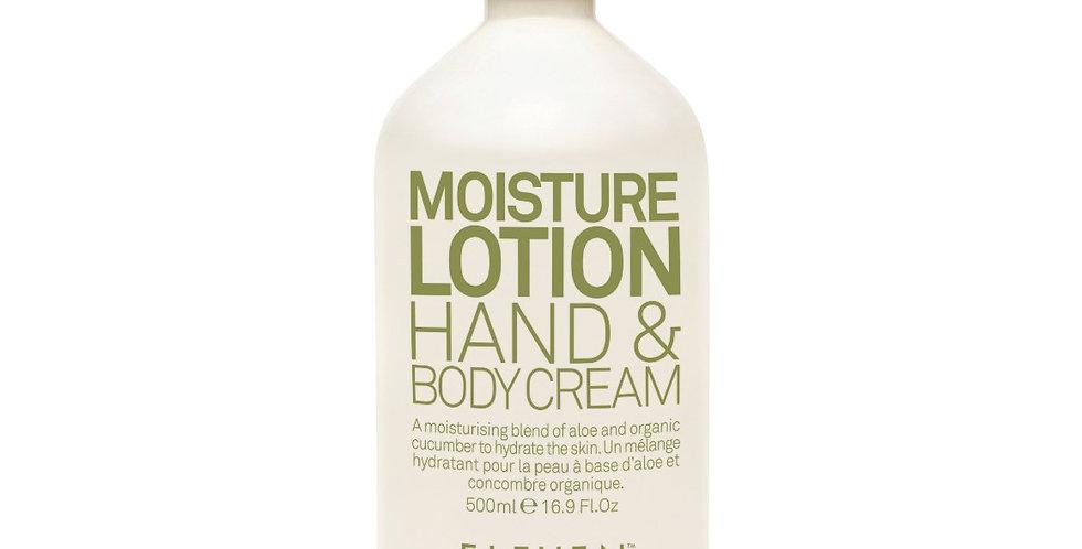 MOISTURE LOTION HAND & BODY CREAM - 500ml