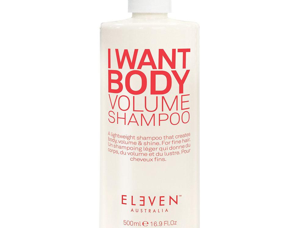 I WANT BODY VOLUME SHAMPOO-500ml