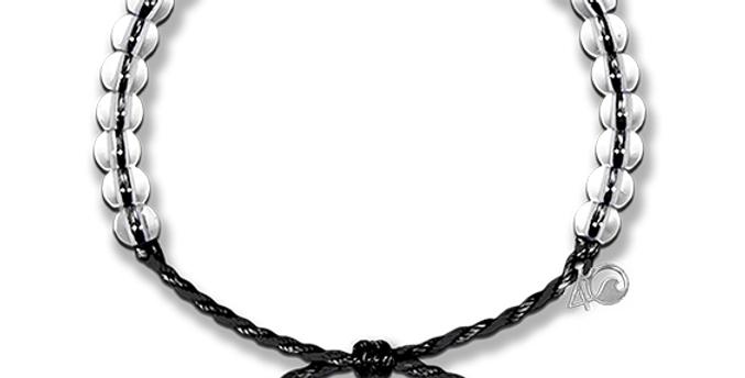 4ocean Armband schwarz