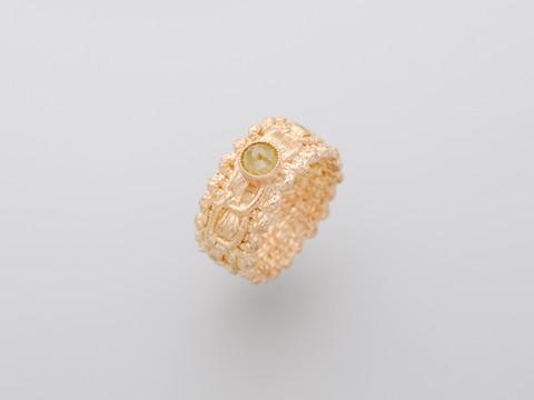 gelber Diamant (rosecut)