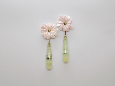 Perlmutt, Phrenit und olivgrüne Brillanten