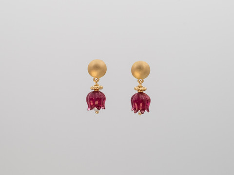 roter Turmalin, Perlen