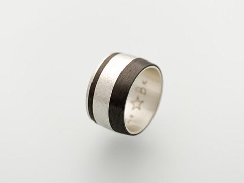 Silber 925 und Carbon