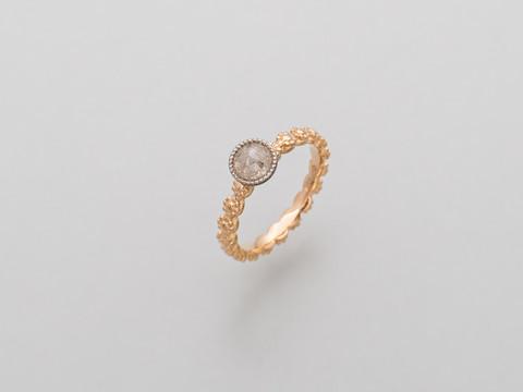 hellgrauer Diamant (rosecut)