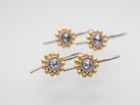 Graue Diamanten (rosecut)