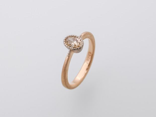 champagnerfarbener Diamant