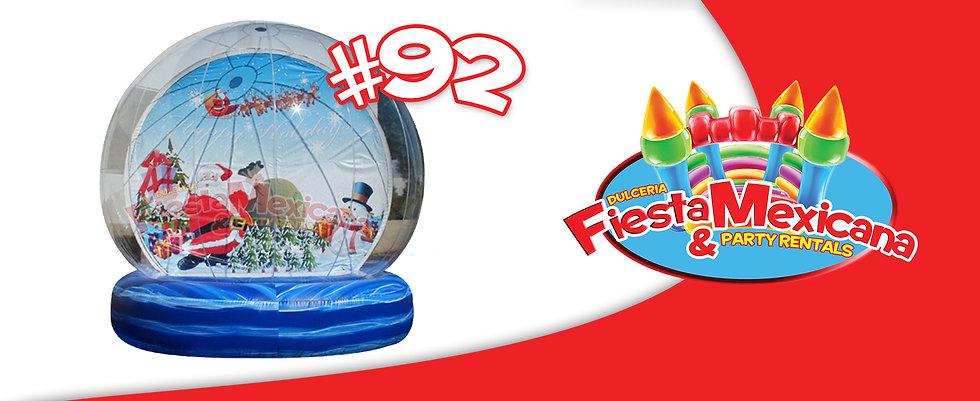 snow globe 92 $275