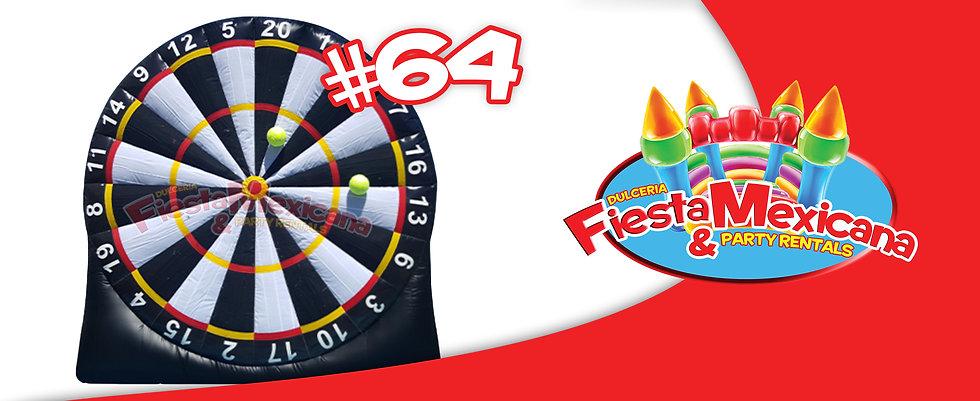 occer dart 64. $140