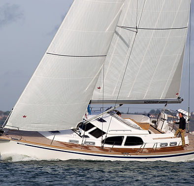 Chesapeake Sailmakers Elvstrom cruising sails