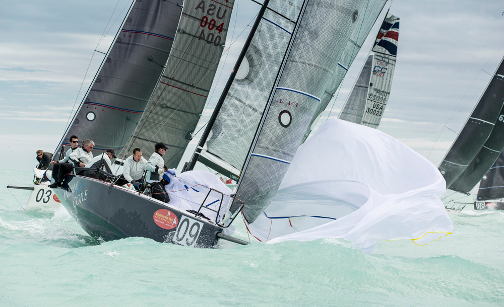 C&C 30 Anema & Core at 2016 Key West Race Week with sails by Chesapeake Sailmakers.