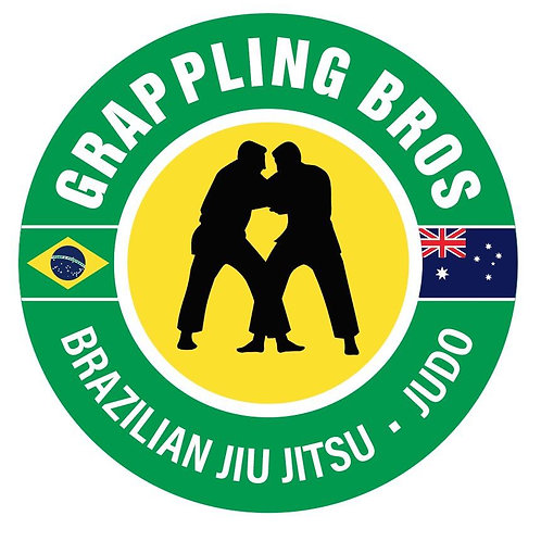 Grappling Bros - Car Sticker