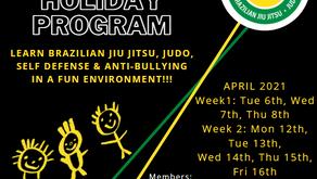 Kid's School Holiday Program