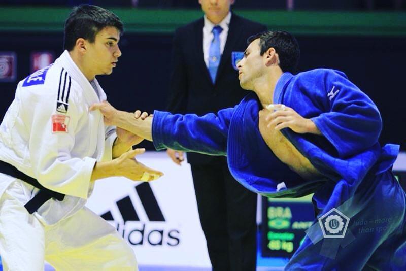Pedro Antun in Blue gi