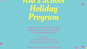 Kid's School Holiday Program is on again!!