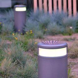 borne d'éclairage espace public parc jardin