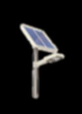 lampadaire solaire public parking france