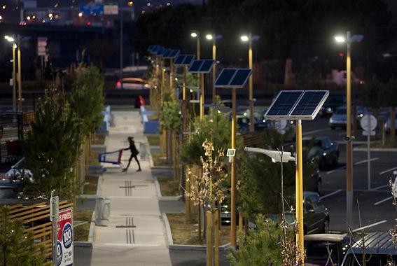 Lampadaire solaire urbain Indre 36