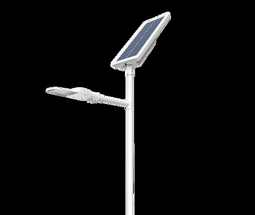 éclairage solaire voie cyclable