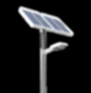 luminaire solaire public Rhone 69